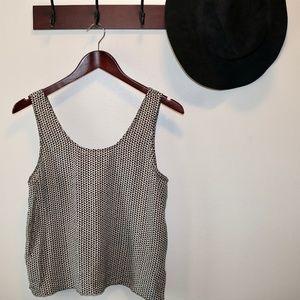 Madewell | Silk Sundown Tank Triangle Field Cami